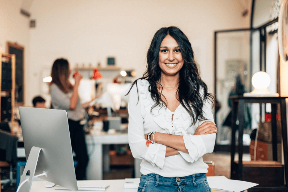 Women entrepreneur and business owner
